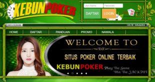 KEBUNPOKER Merupakan Agen Poker Online Terbaik Dan Terpercaya