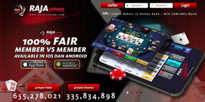 rajajudiqq merupakan situs judi online terpercaya masa kini dan bandar poker online