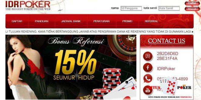 IDRPOKER88 Situs Poker PKV Games Online Terpercaya dan Terbesar