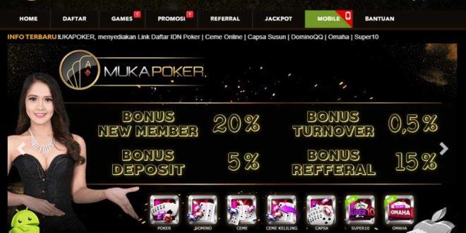 MUKAPOKER Situs Judi Poker Online Terpercaya Uang Asli