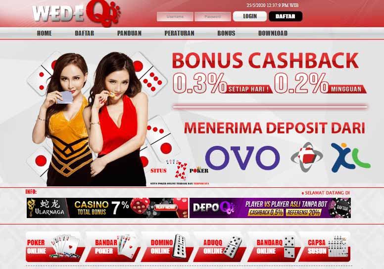 WEDEQQ Situs Judi Online Terbaik Dan Terpercaya Di Indonesia