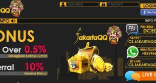 JAKARTAQQ Salah Satu Situs DominoQQ Online Indonesia Terbaik