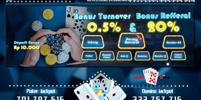 SAKUQQ Agen Judi Poker PKV Games Terbaik Di Indonesia