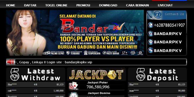 BANDARPKV Situs Judi Online & Online Poker Terpercaya