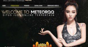 METEORQQ Situs Judi BandarQ Poker Online Indonesia