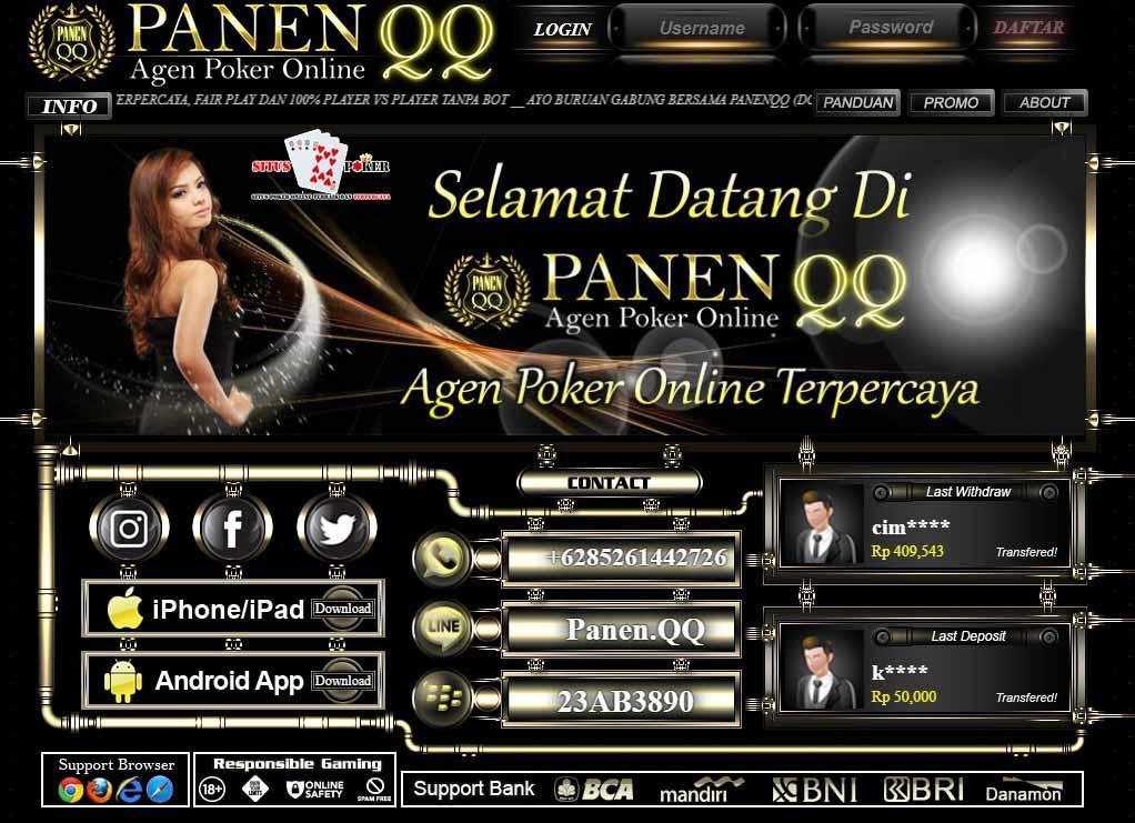 PANENQQ BandarQ Online Terpercaya Terbaik Indonesia