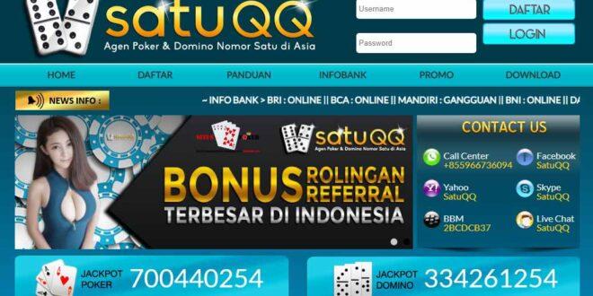 SATUQQ Salah Satu Situs Judi Online Poker Terpercaya